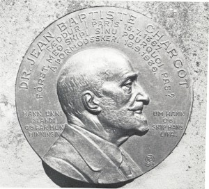 Bas-relief of Jean-Baptiste Charcot